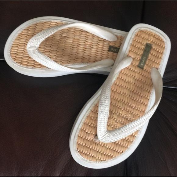 8d5ea018ddf80 J. Crew Shoes - J. Crew Tatami Flip Flops